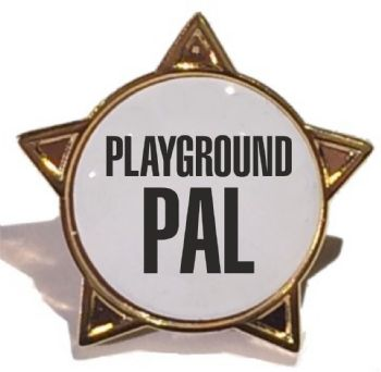 PLAYGROUND PAL star badge
